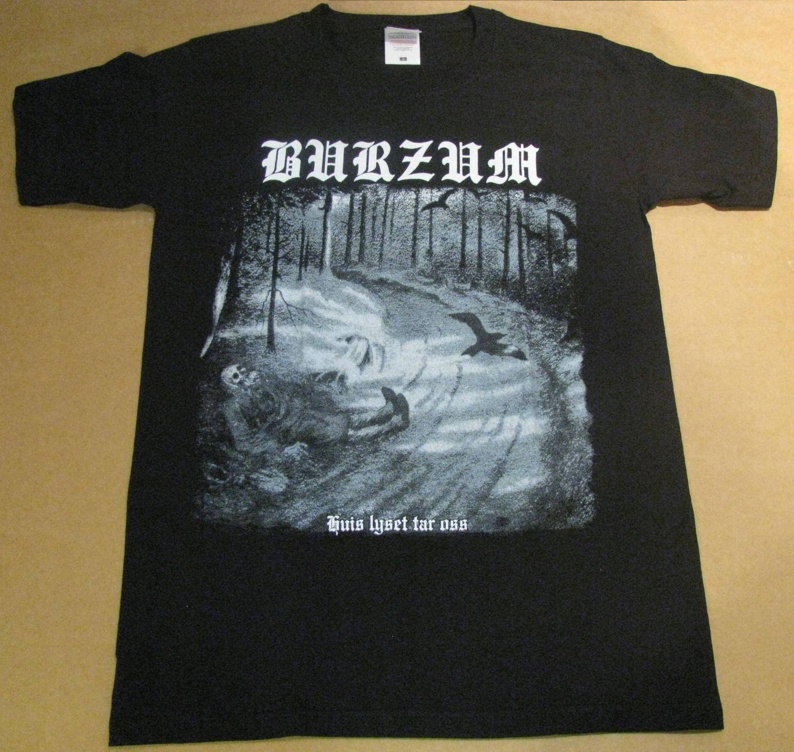 BURZUM Hvis lyset black metal koszulka nowa r S
