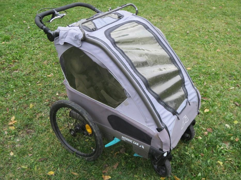 Przyczepka rowerowa Nordic Cab Urban 2w1 - używana