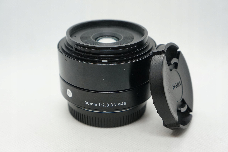 Sigma 30mm 1:2.8 DN m43| 24h F_ra