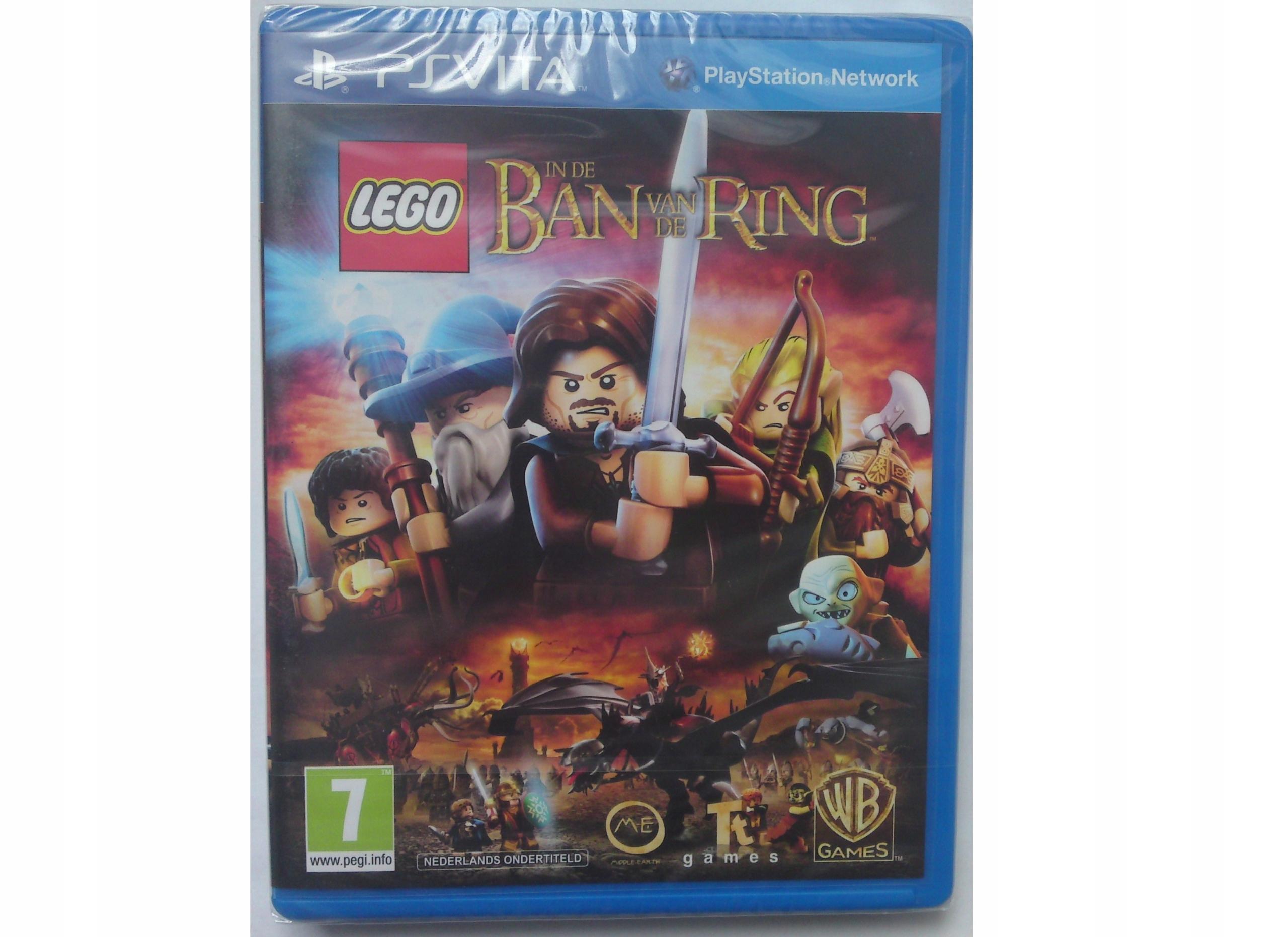 Lego Władca Pierścieni Pl Folia Ps Vita 7466083656 Oficjalne