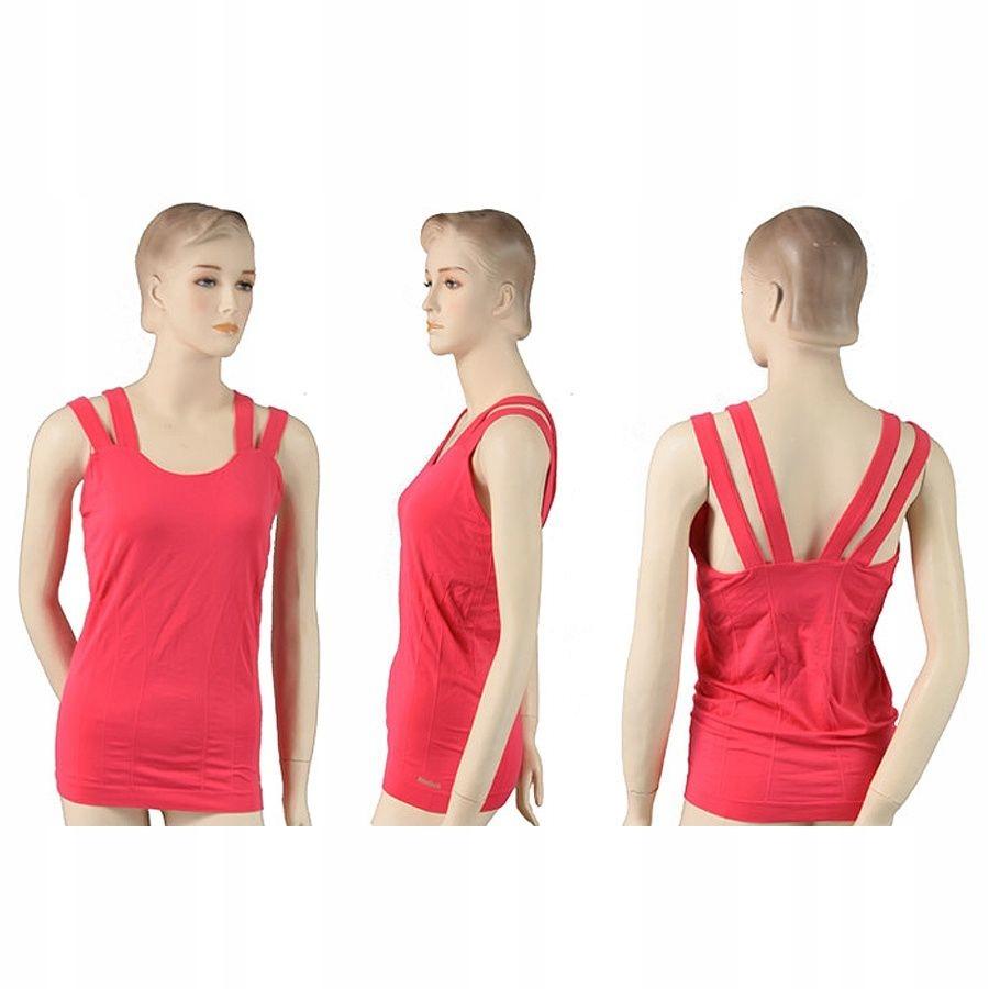 Koszulka Reebok Yoga SmFit XL różowy