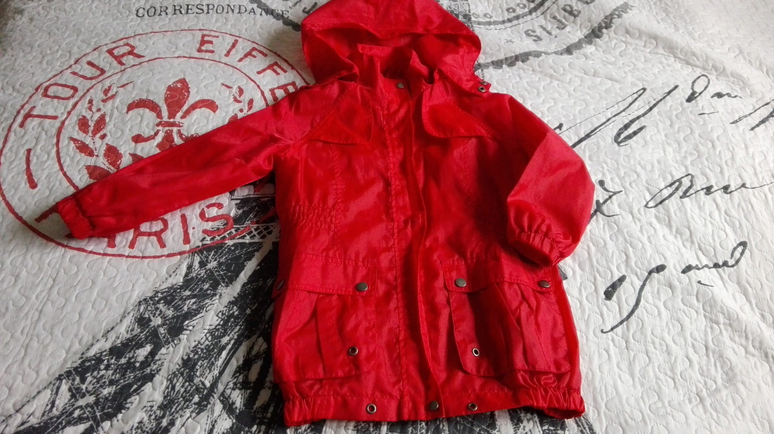 Czerwona kurteczka 5_10_15 116 cm