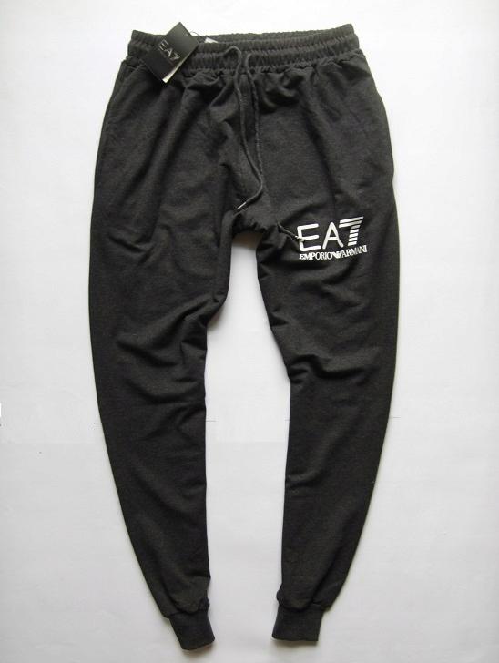 EMPORIO ARMANI cienkie spodnie dresowe XL SLIM