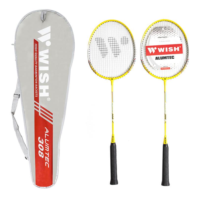 Zestaw do badmintona 2 Rakiety ALU308K BADMINTON ż