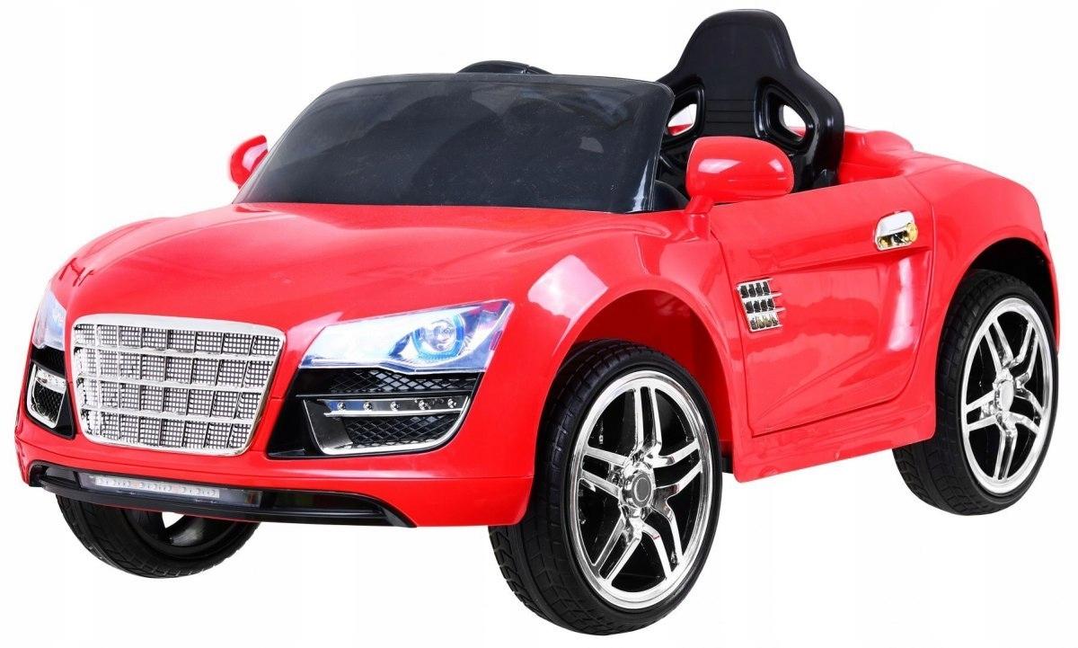 Pojazd Super Power Czerwony