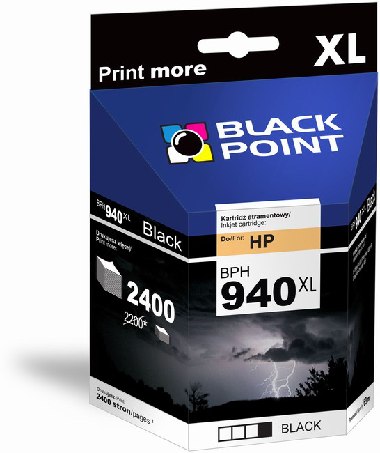 Outlet Black Point HP No 940XLBK (C4906AE)
