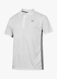 Koszulka Polo DUNLOP biała r.XL