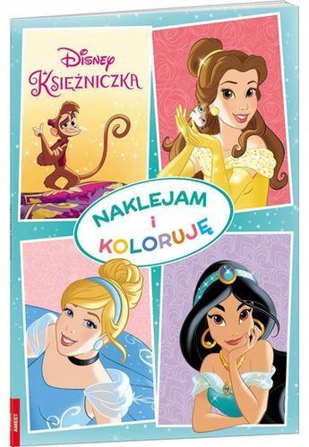 Naklejam I Koloruję. Disney Księżniczka