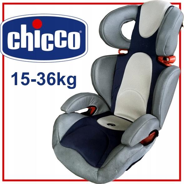 CHICCO Artsana fotelik 15-36 kg BEZPIECZNA PODRÓŻ