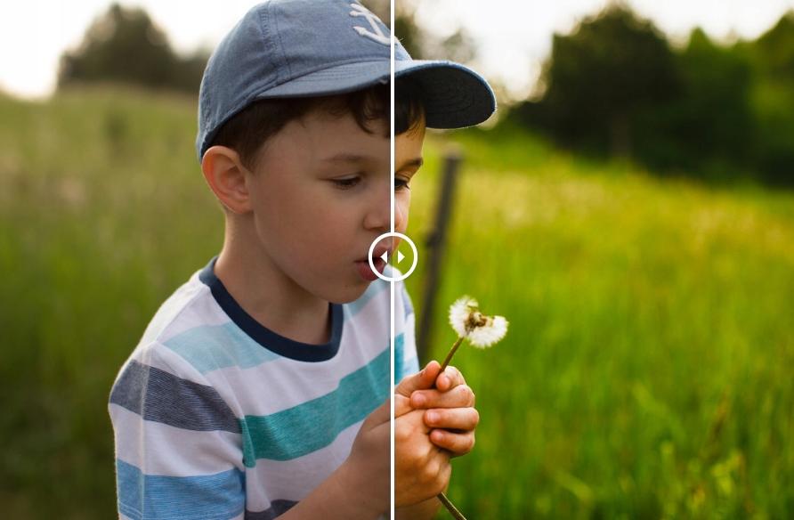 delicious & simple Adobe Lightroom preset