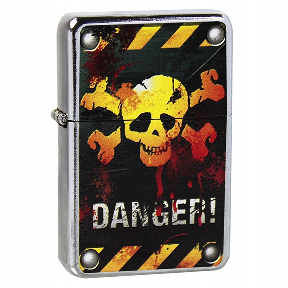 Zapalniczka Danger I + Twój Grawer