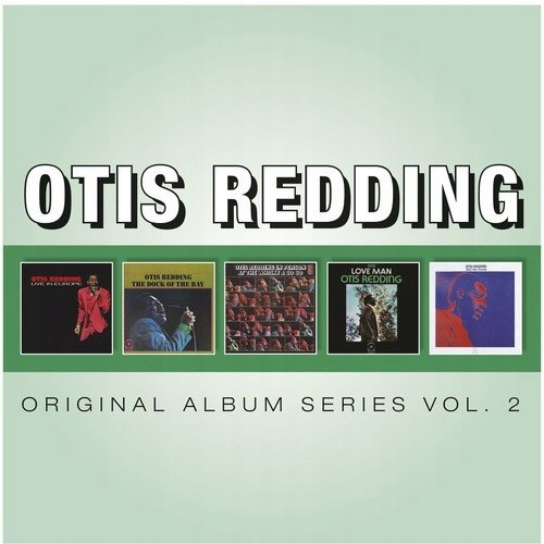 OTIS REDDING ORIGINAL ALBUM SERIES VOL.2 5CD BOX .
