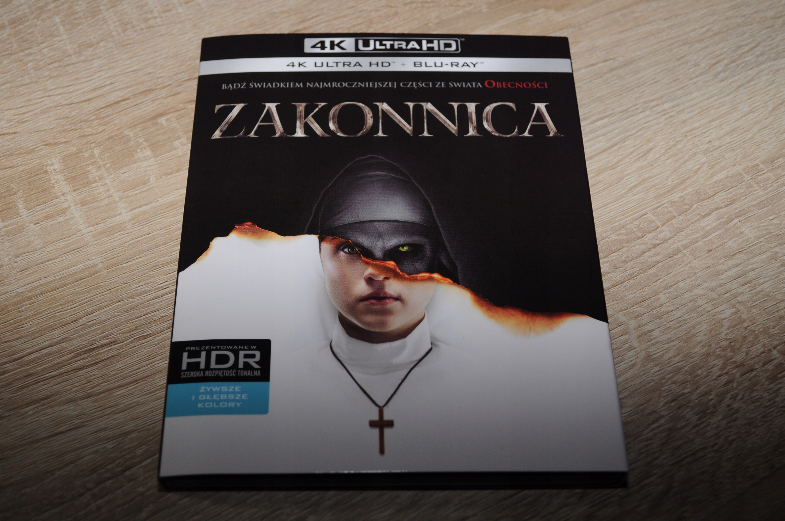 ZAKONNICA (2BD 4K) BLU-RAY PL- wysyłka gratis !!!