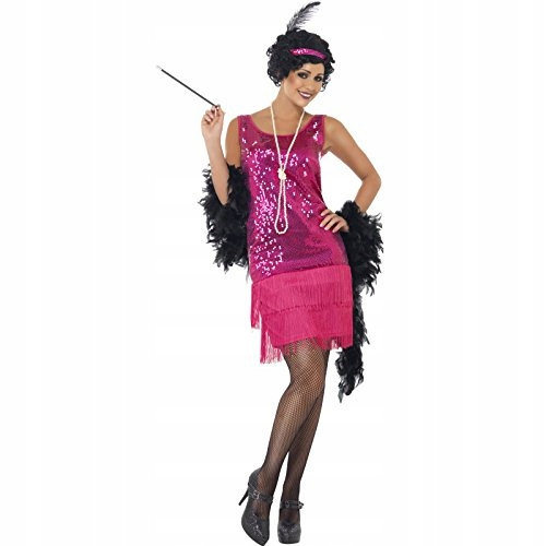 Smiffy's Adult Women's Funtime Flapper Costume, Dr