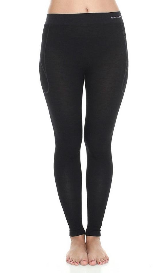 Spodnie damskie Active Wool Brubeck S czarny