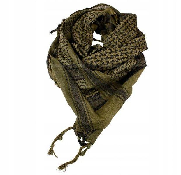 CHUSTA SHEMAGH Arafatka MIL-TEC Oliv Black