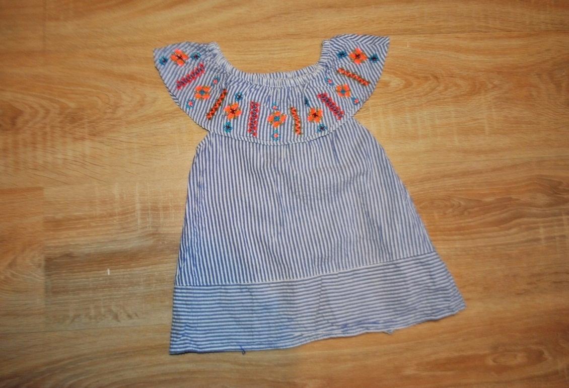 ZARA BABYGIRL śliczna sukienka KOLEKCJA 86 BDB
