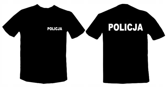 Koszulka premium POLICJA Koszulki 170g NAJLEPSZA