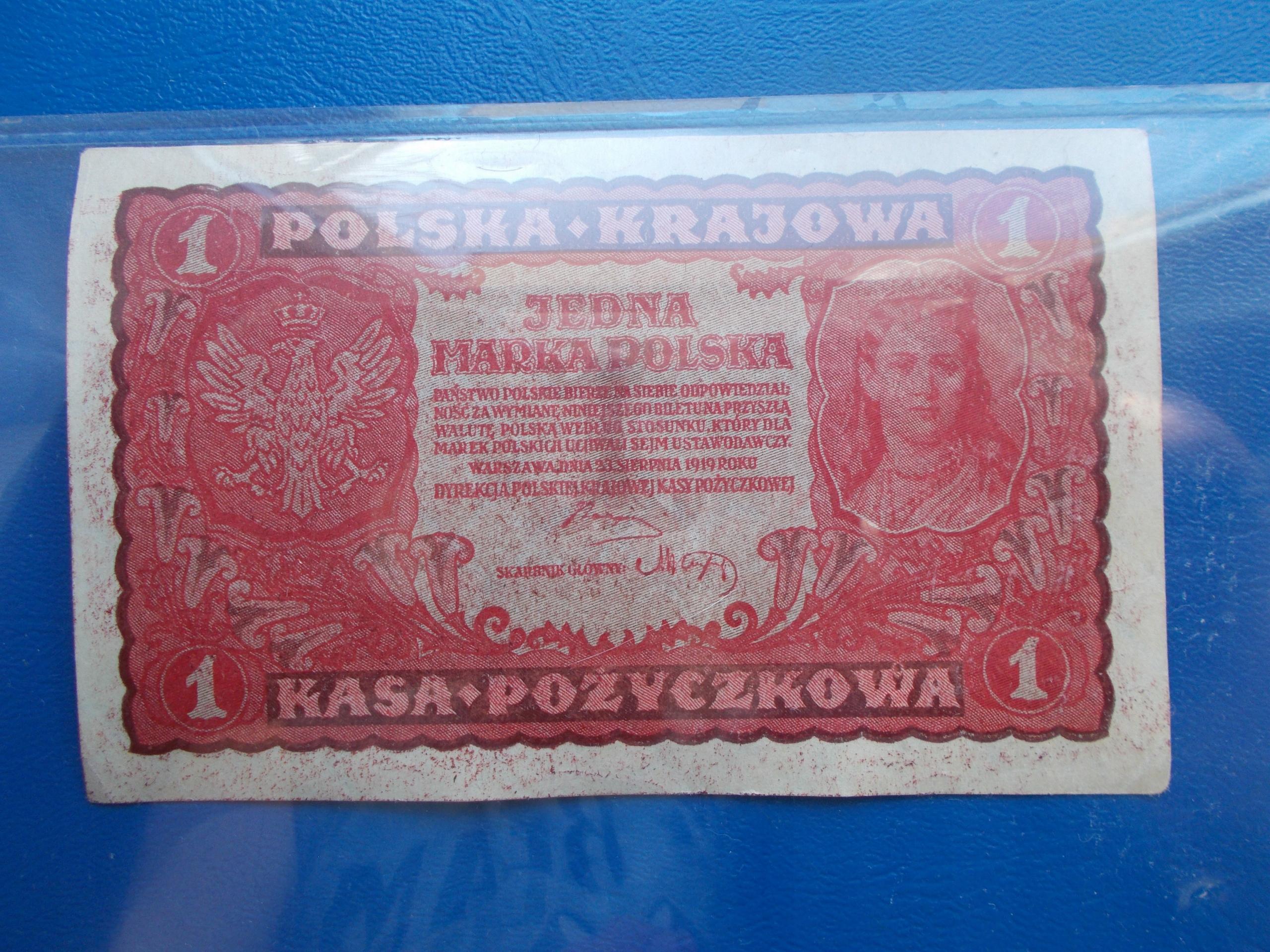 1 MARKA POLSKA-1919-I Serja BD