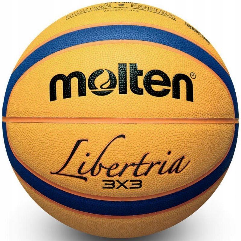 Piłka do koszykówki Molten B33T2000 outdoor 3x3