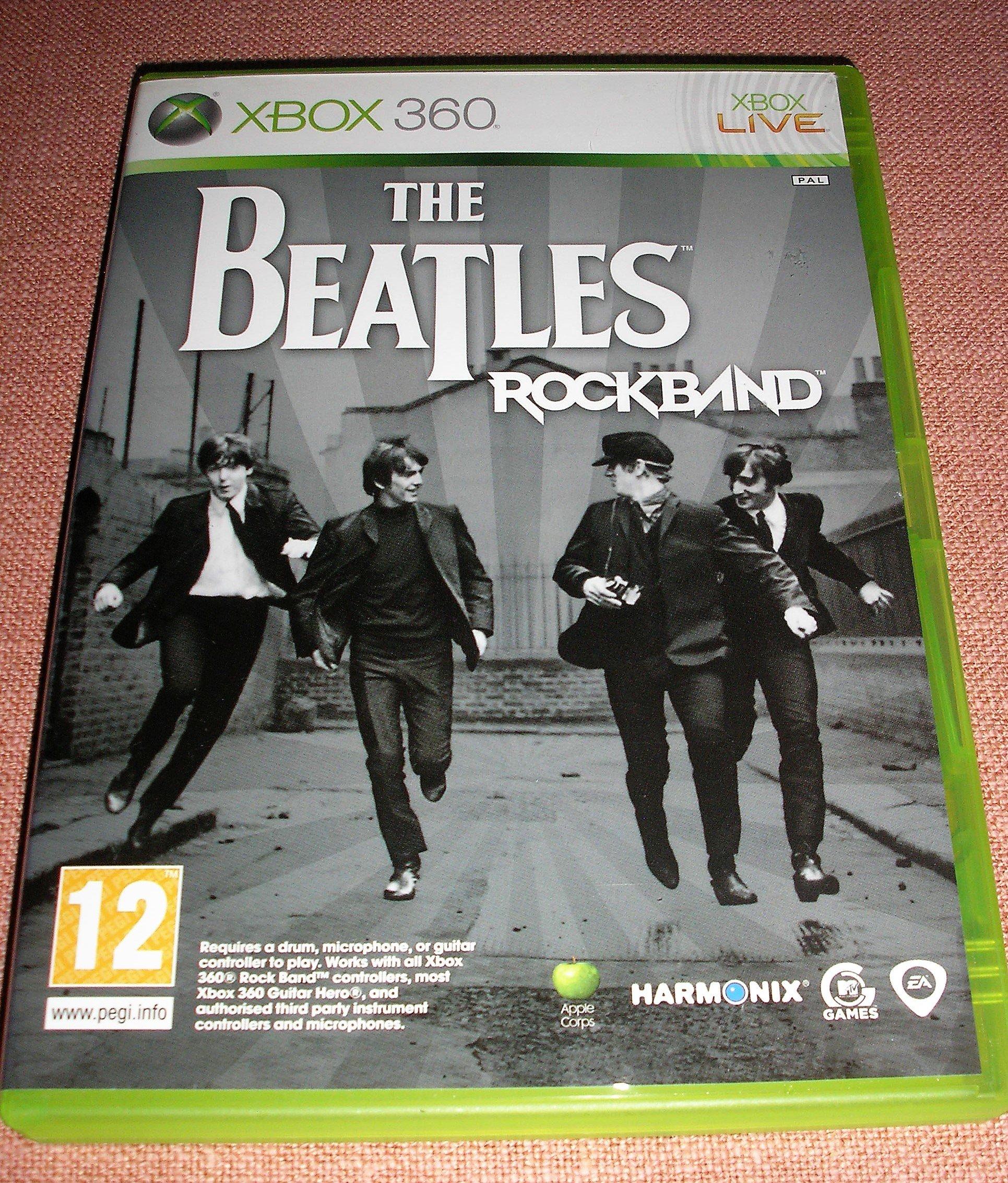 Gra muzyczna The Beatles Rockband xbox 360