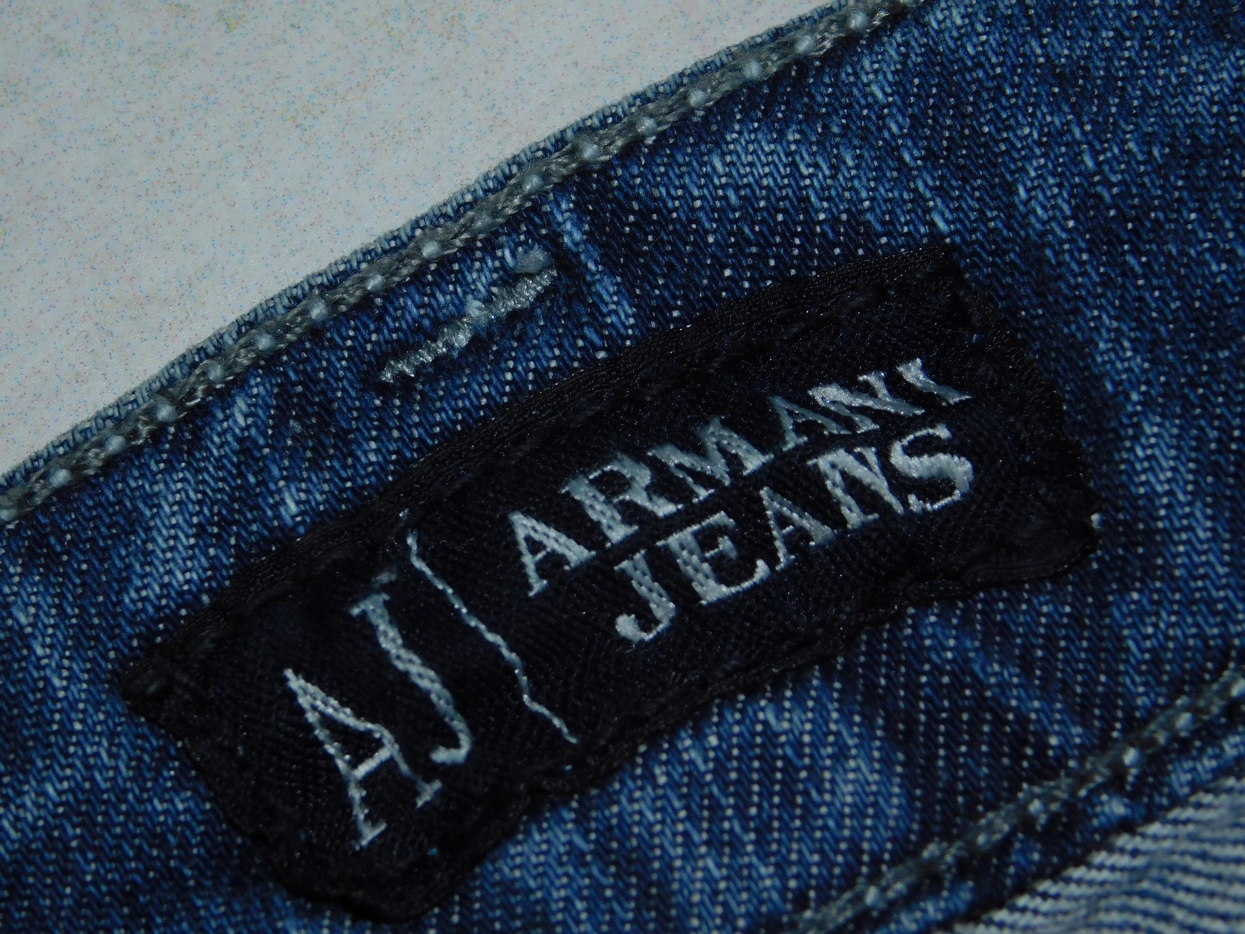 ARMANI JEANS jeansowe spodnie ___ S___