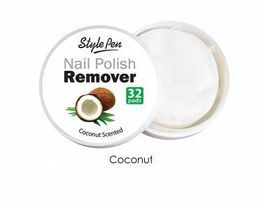 Ferity zmywacz do paznokci w płatkach Kokos