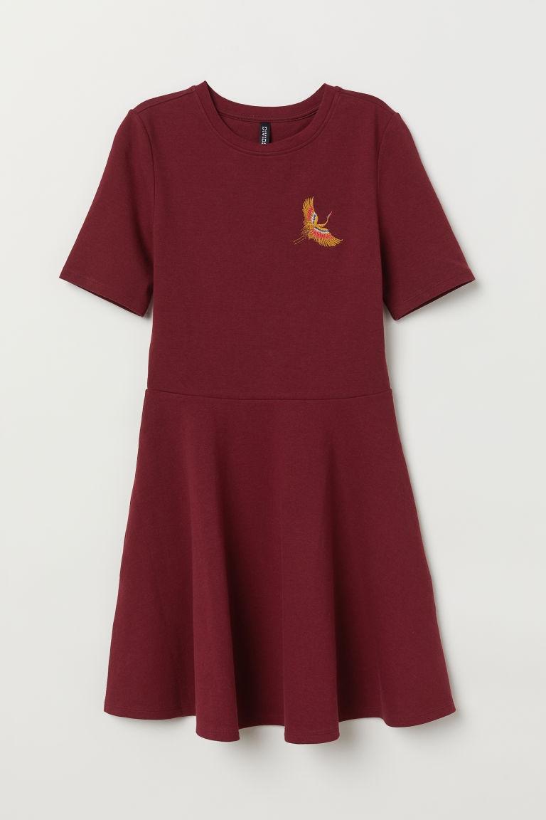 Sukienka z krótkim rękawem H&M 38 M College st