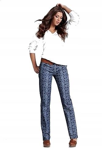 JOHN BANER nowe śliczne spodnie STRAIGHT LEG 34 R