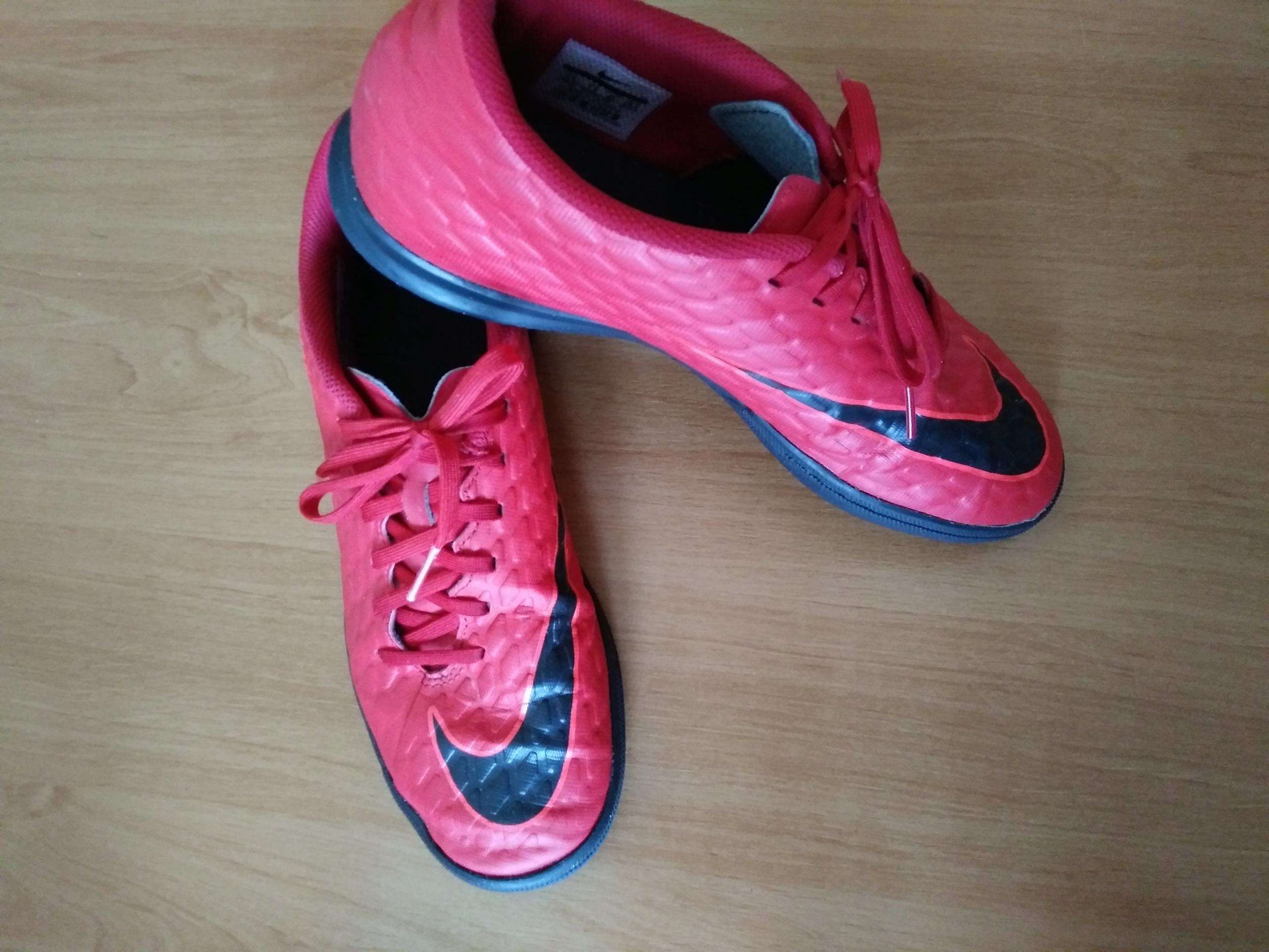 Nike Hypervenom 42 halówki czerwone