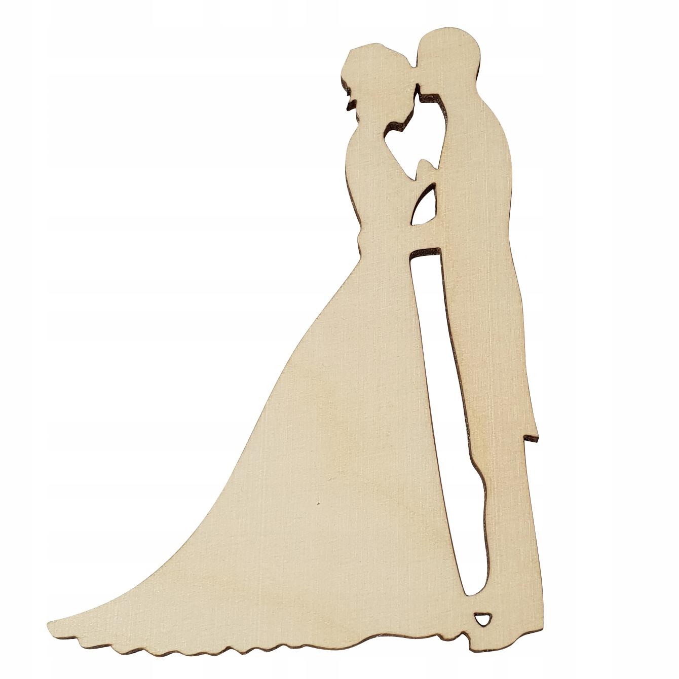 Para Młoda P3 ozdoba DEKOR WESELE ślub DECOUPAGE