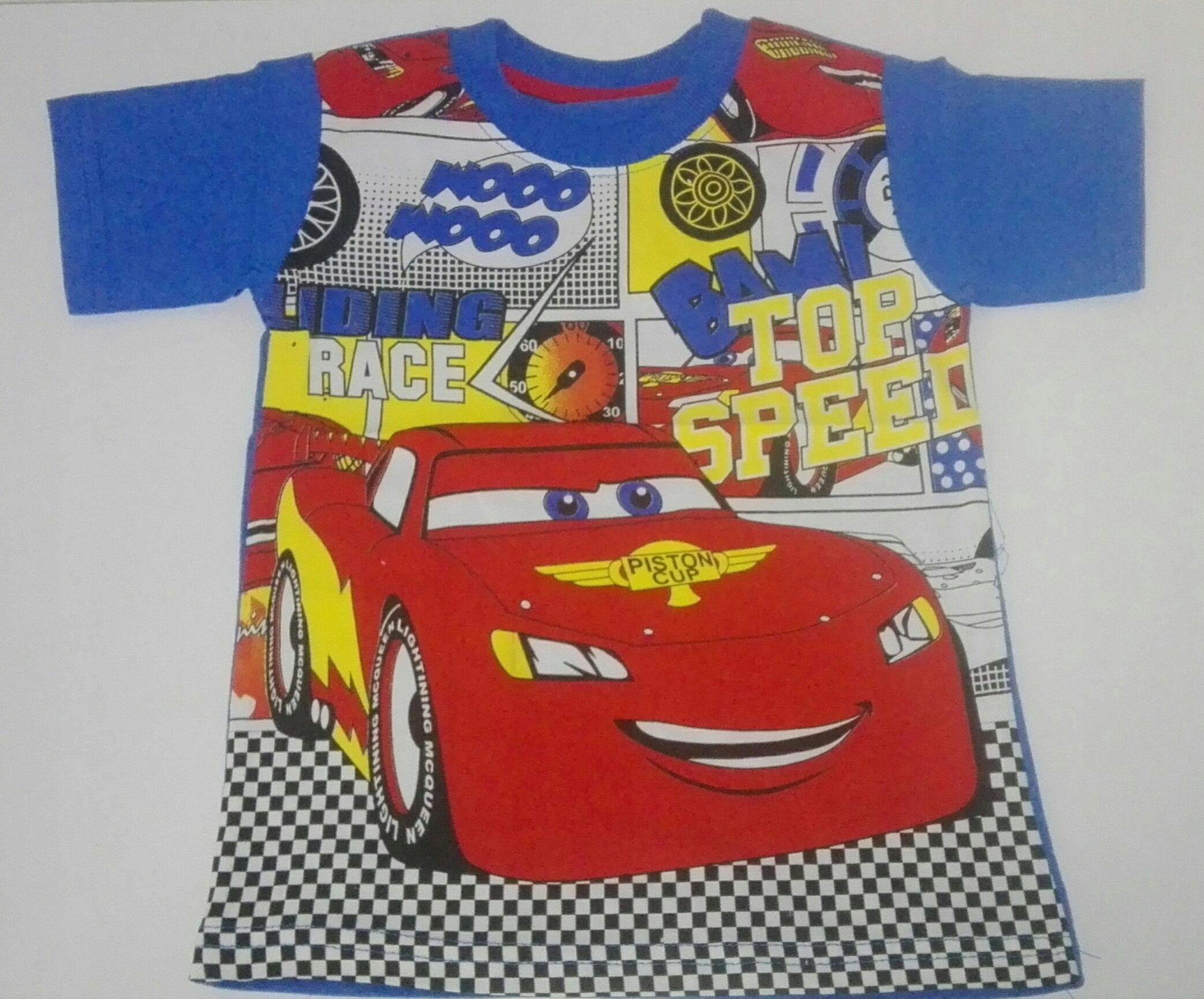 Nowy tshirt Zygzak auta koszulka 128