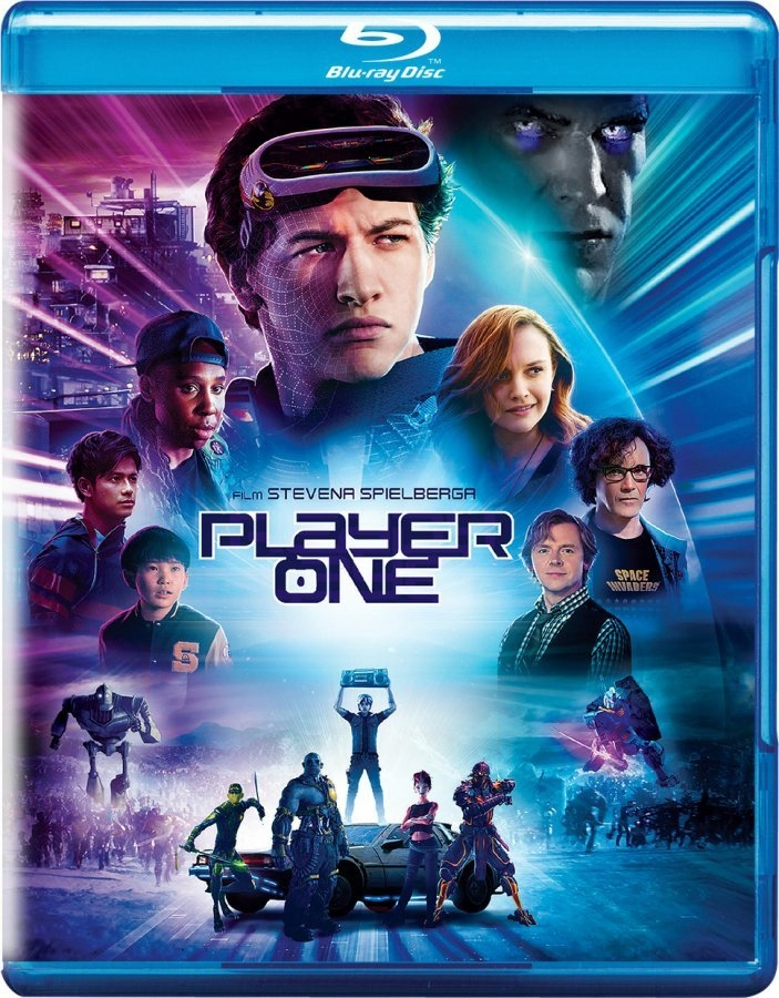 PLAYER ONE BLU-RAY FOLIA S.Spielberg