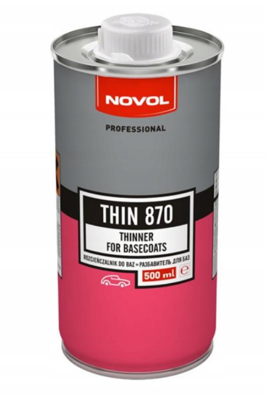 NOVOL THIN 870 ROZCIEŃCZALNIK DO BAZ 0,5L WYPRZ