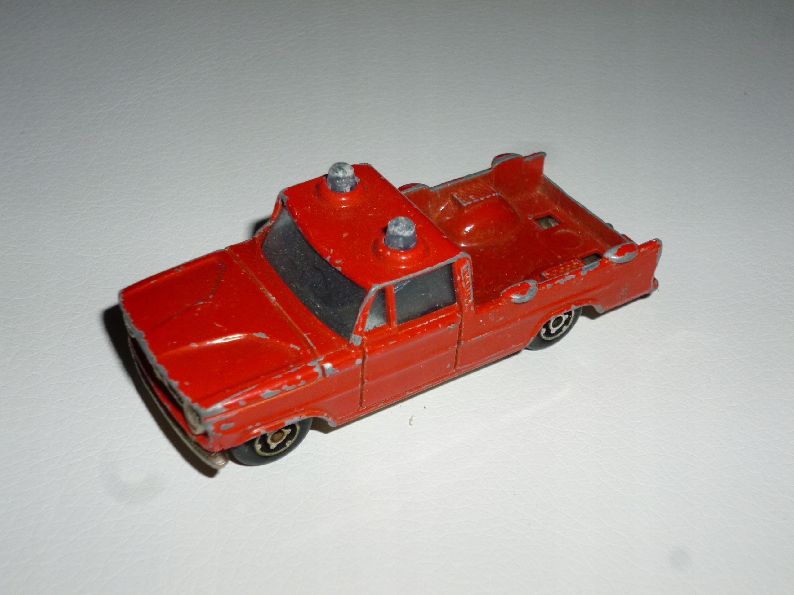 Pick Up Straż stary Majorette model resorak autko