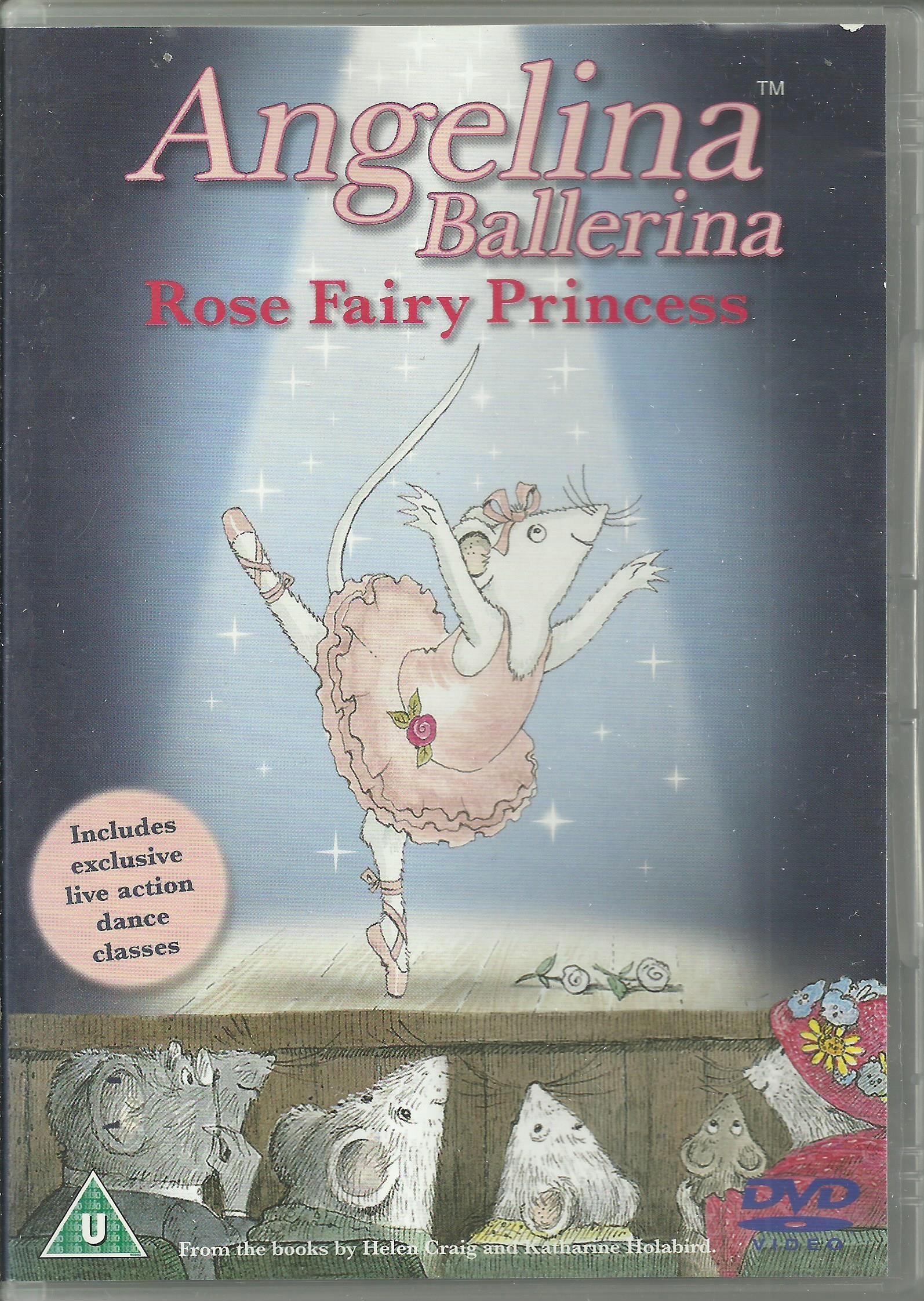 Angelina Ballerina Rose Fairy Princess - DVD