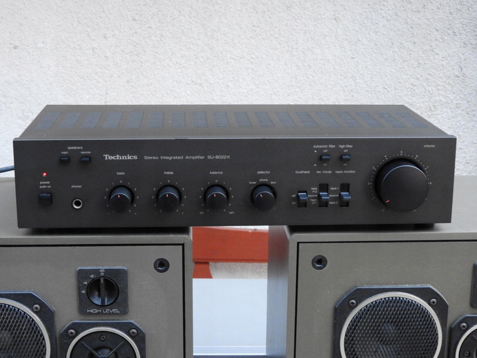 Wzmacniacz Technics SU-8022K 400 watt