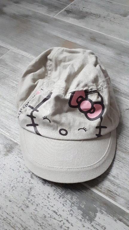 czapka kaszkiet zara hello kitty roz 3-5 lat