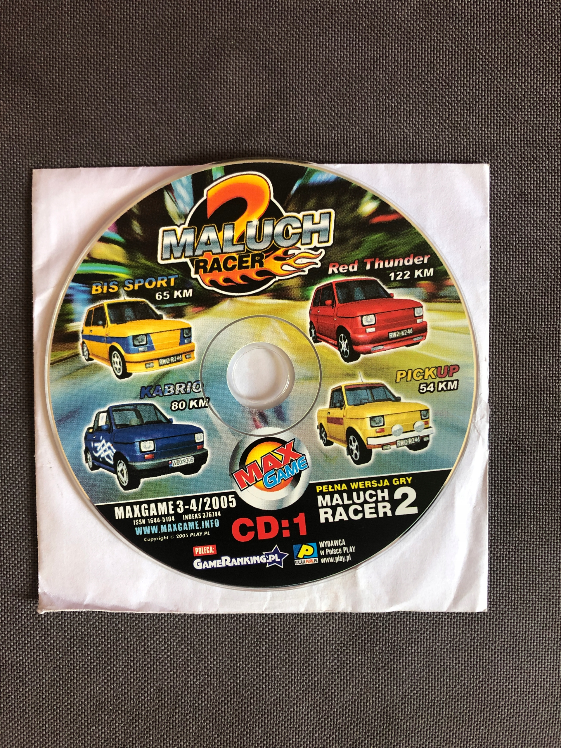 Maluch Racer 2 * gra komputerowa PC *