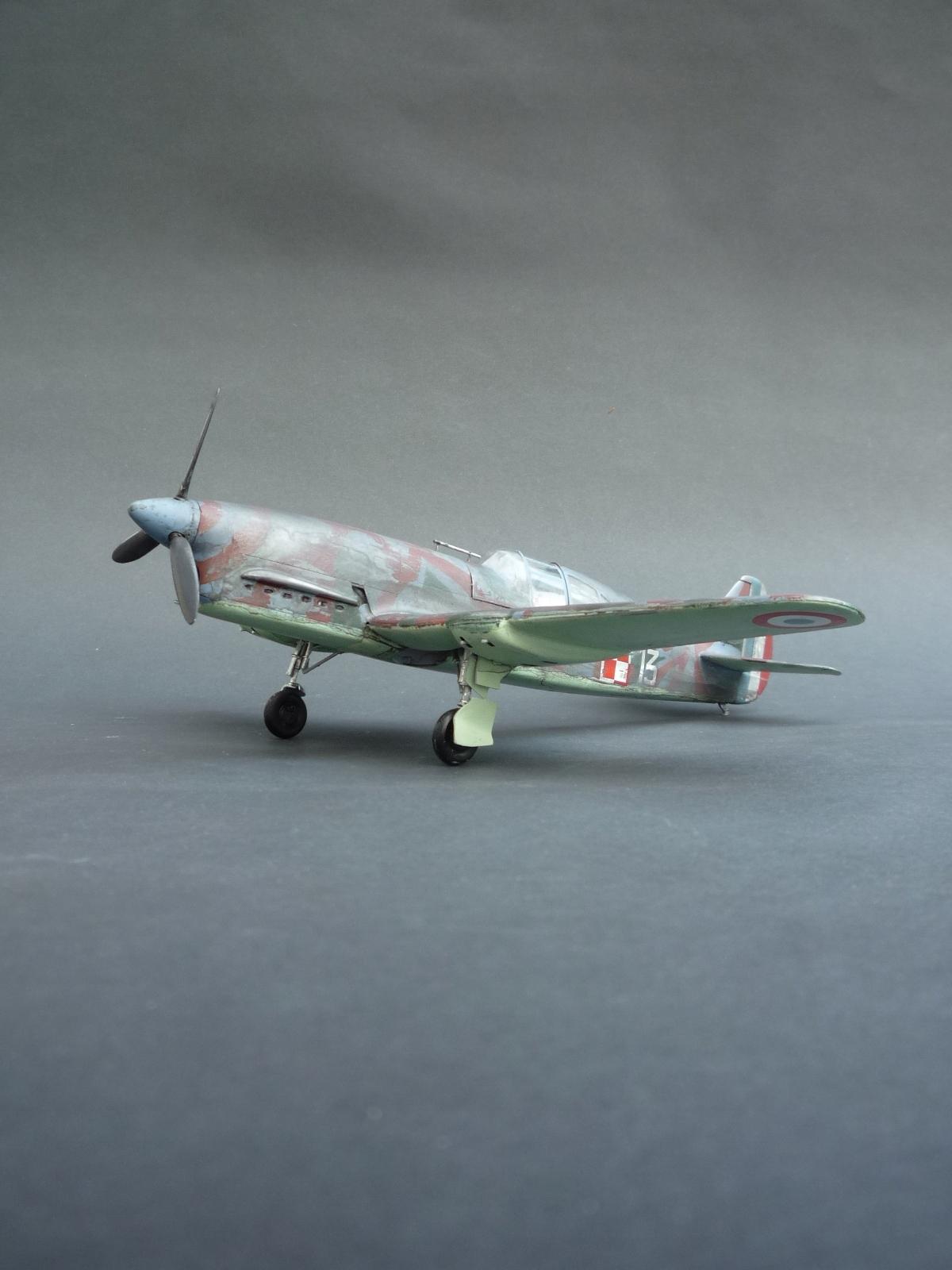 GOTOWY MODEL 1; 32 Caudron C.714C.1 Polski
