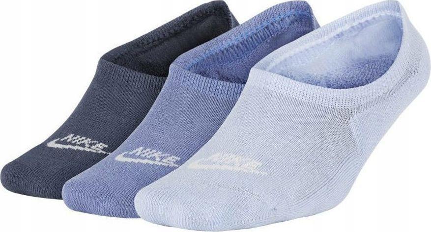 Nike Skarpety NSW 3PPK Footie fioletowe r. 34-38 (