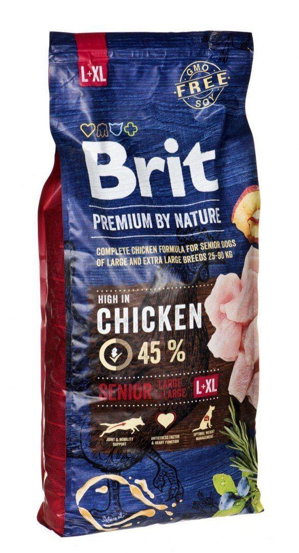 Karma Brit Premium By Nature Senior L+XL (15 kg )
