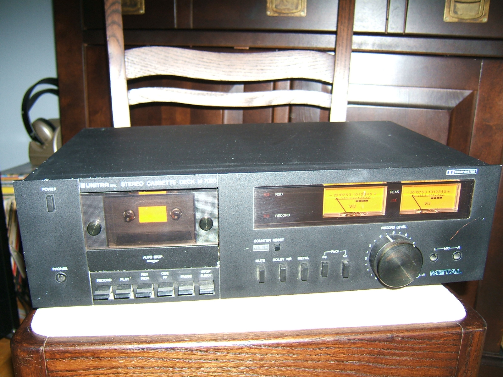 Unitra Stereo Cassette Deck M 7020