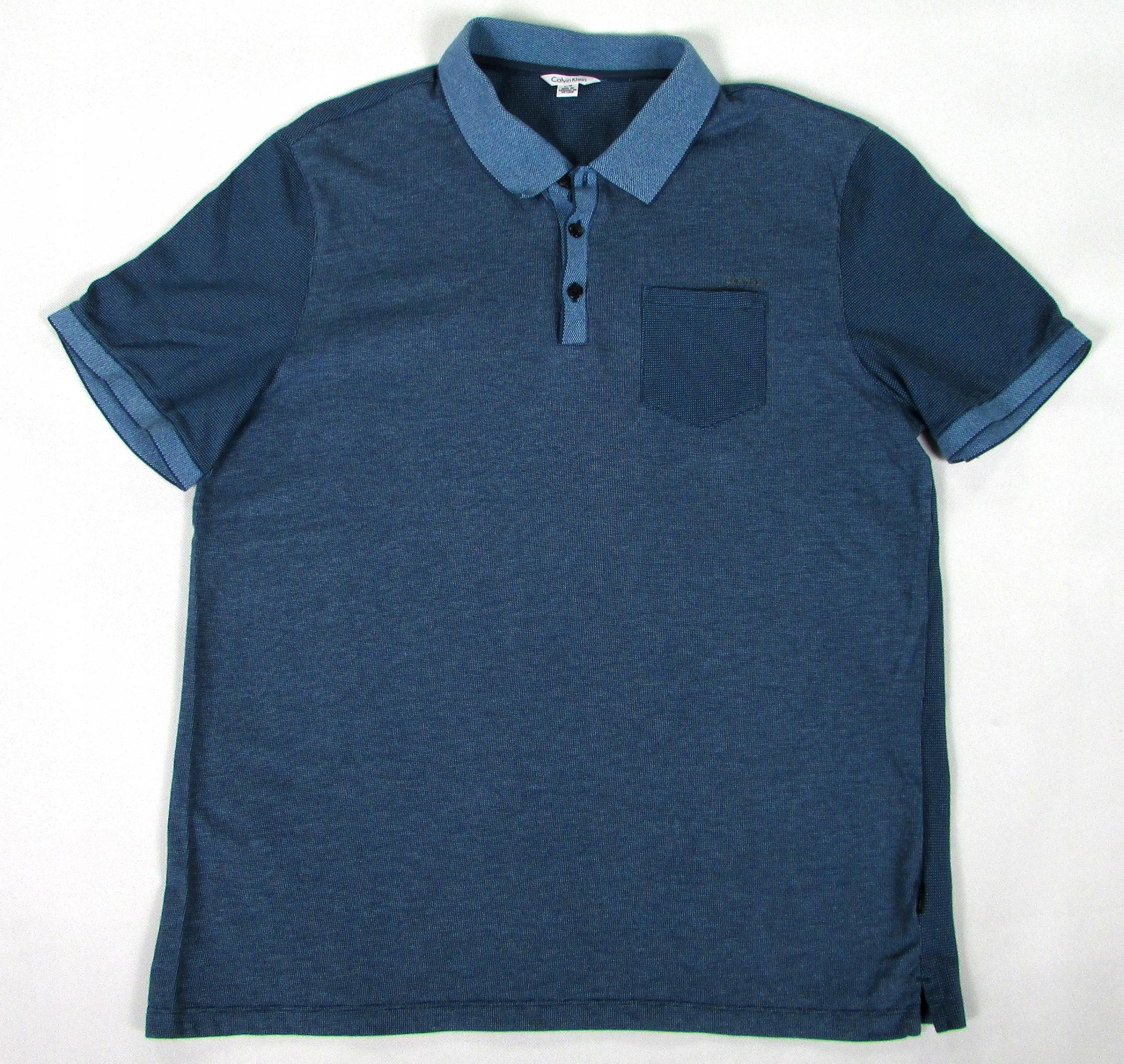 ** CALVIN KLEIN **__L__Rewelacyjna koszulka polo