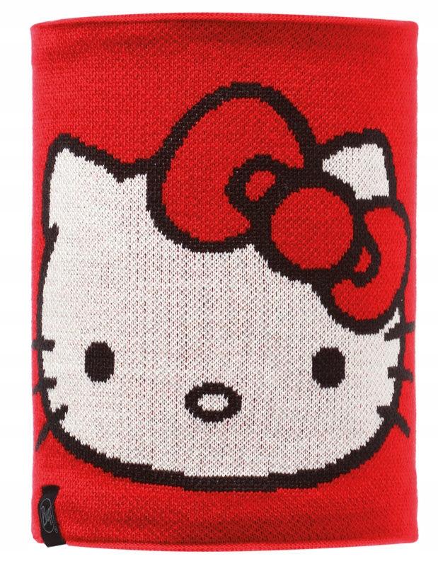 Komin Child Buff Knitted Polar Hello Kitty