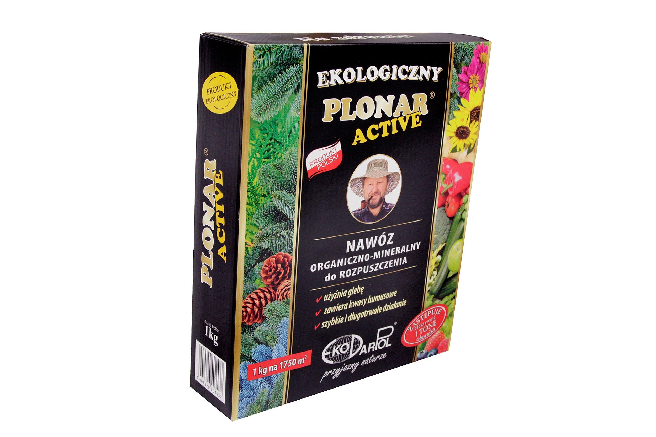 NAWÓZ UNIWERSALNY krzewy warzywa Plonar active 1kg