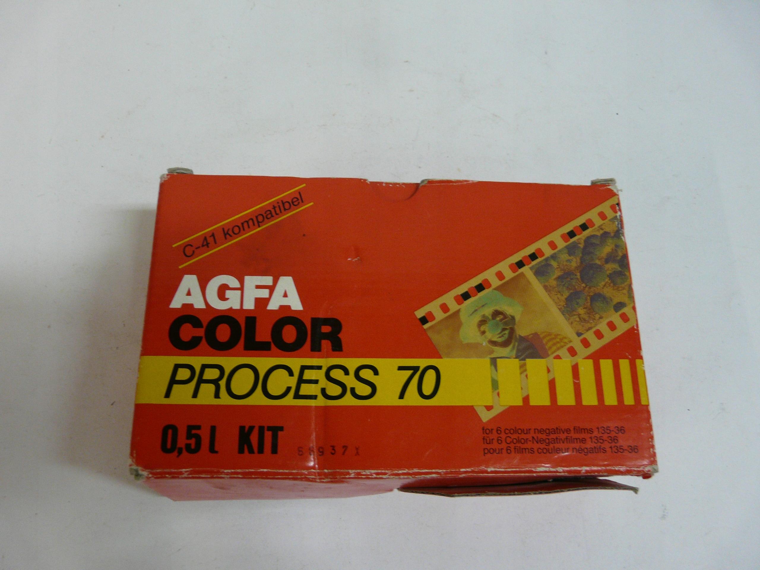 AGFA COLOR PROCESS 70 chemia do kolorów
