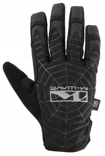 Rękawiczki rowerowe M-Wave pełne gel spiderweb L