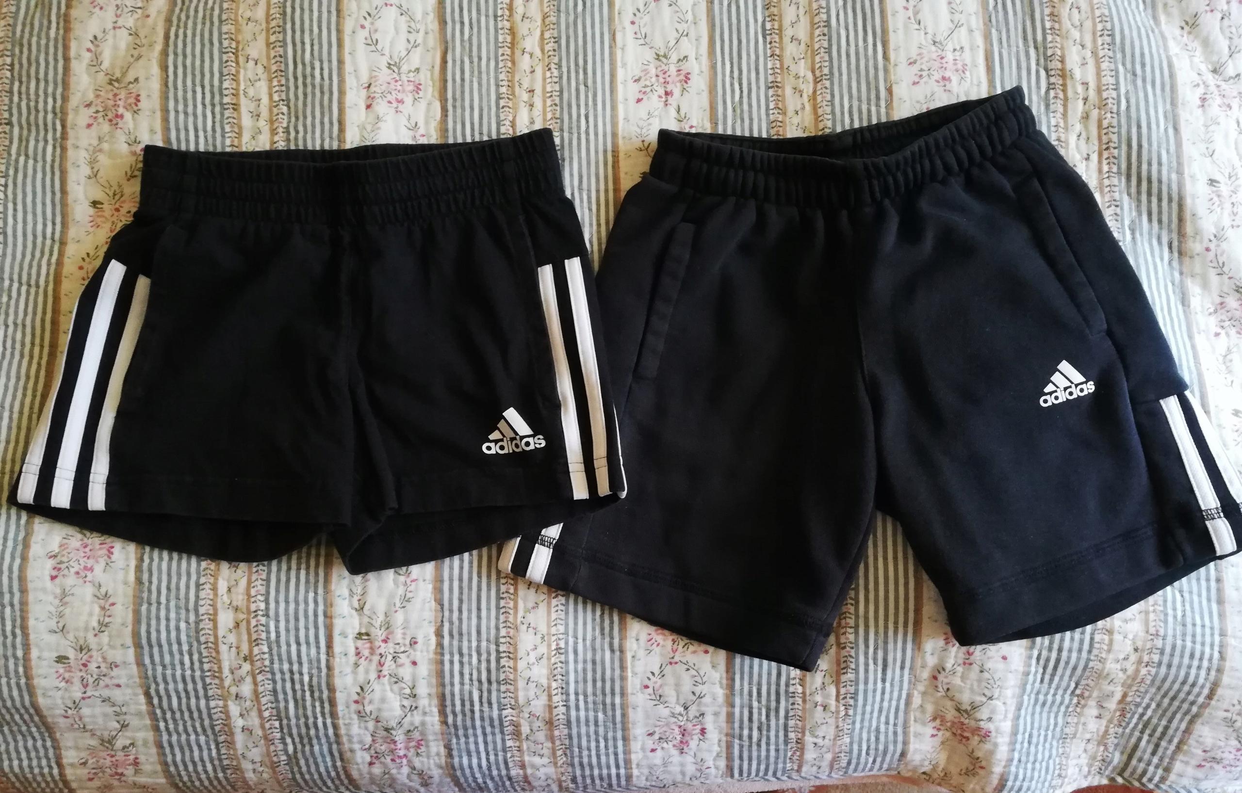 Spodenki, szorty Adidas 116 2 pary