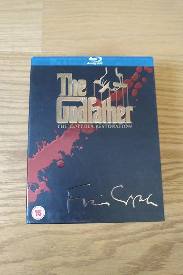 Ojciec Chrzestny (Godfather) Trylogia Bluray bdb
